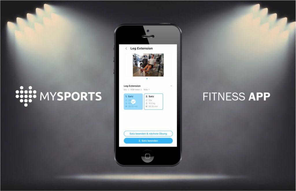 Präsentation - Trainingsapp - MySports - Handyprogramm